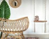 Rattan mirror sun sunbeam boho decor wall matching bassinet deco baby room