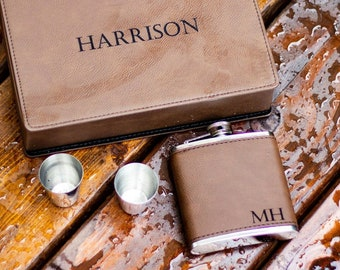Personalized Flask, Groomsmen Gift Flask Gift Set for Groomsman Gift, Groomsmen Proposal Groomsman Gift, Wedding Party Gift for Best Man