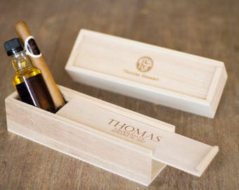 Set Of 9 Groomsmen Gift Cigar Boxes For Groomsmen Gift Best