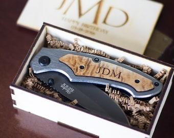 Groomsmen Gift - Personalized Knife Rustic Groomsmen Gifts, Groomsman Gifts, Wedding Gift as Best Man Gift, Personalized Knife