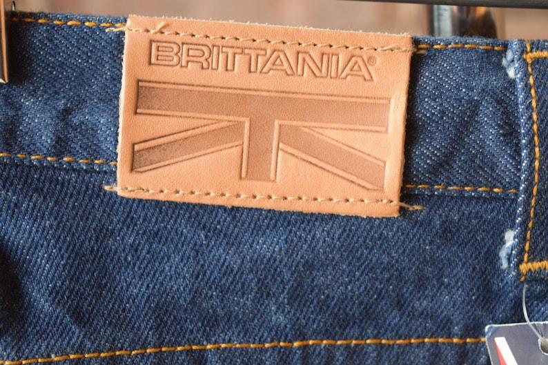 80s HIGH WAIST Jeans Brittania Jeans