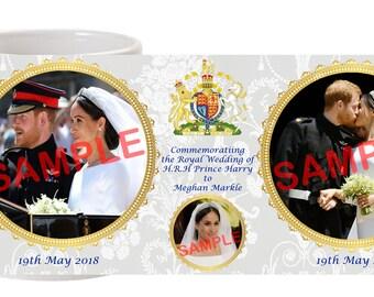Prince Harry Meghan Markle Royal Wedding Commemorative Mug