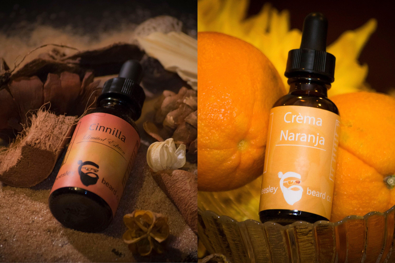 992b5597 Beard Oil Dual Collection - Cinnilla & Orange Cream 1oz each - Viking Beard  Moisturizer, Beard Conditioner, Beard Care, Grow Your Beard