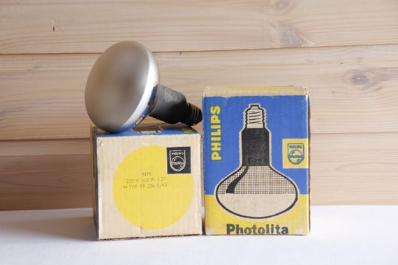 Philips photolita 500w Lámpara Bombilla E27