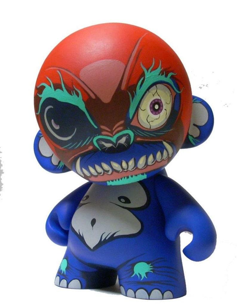 Custom Kidrobot Munny 7