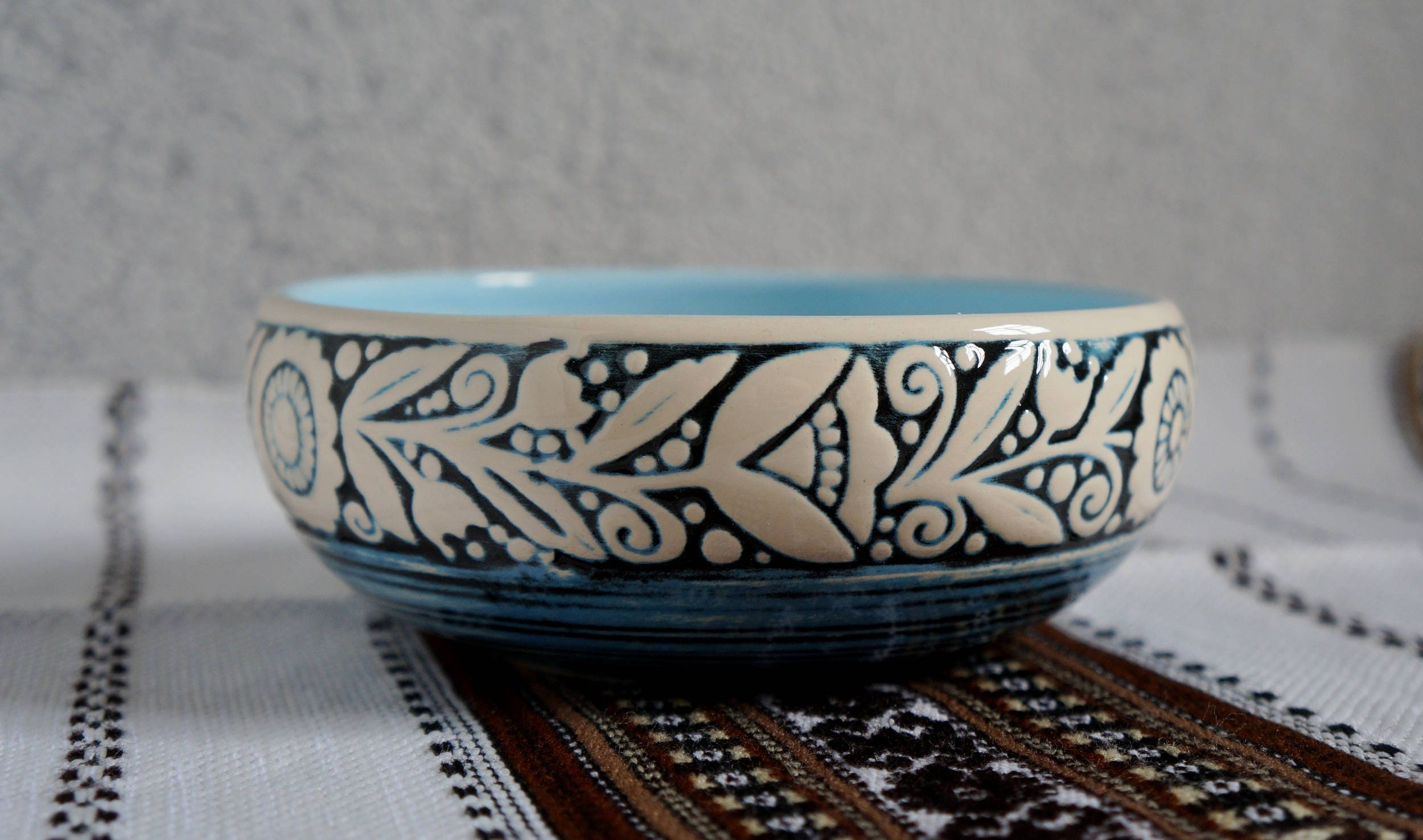 Wedding Gifts For Women: Pottery Bowl Wedding Gift Ideas For Women Snack Bowl Clay