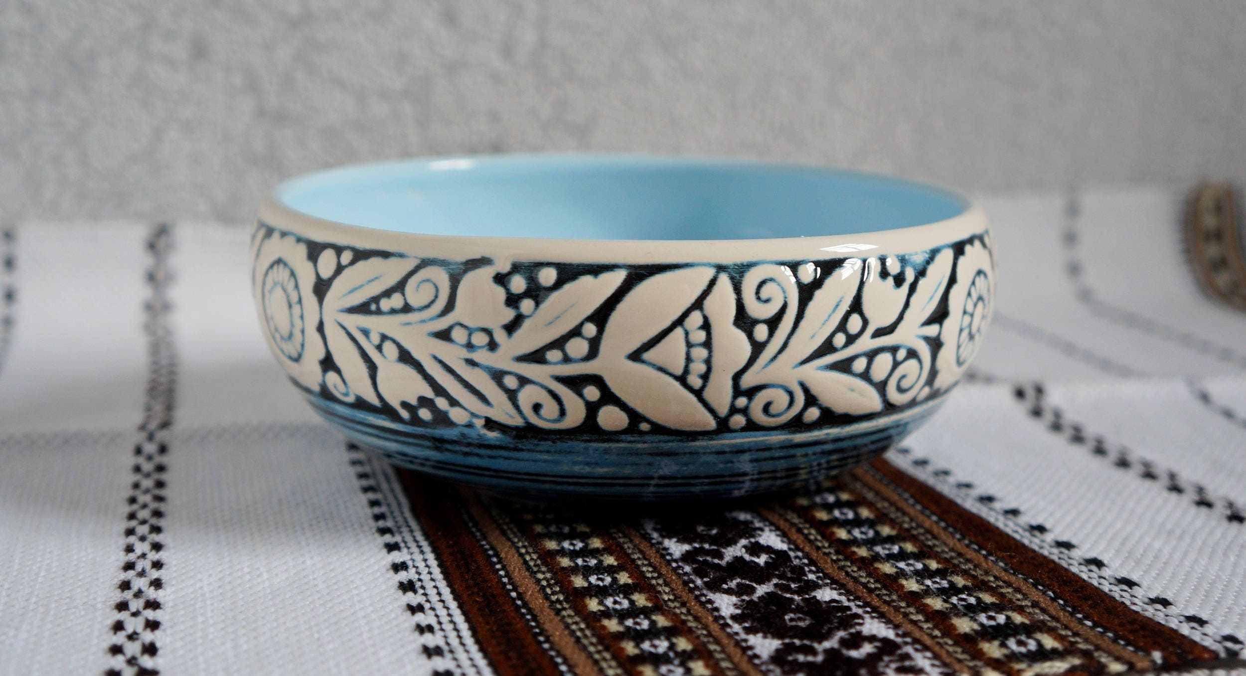 Pottery Wedding Gifts: Pottery Bowl Wedding Gift Ideas For Women Snack Bowl Clay