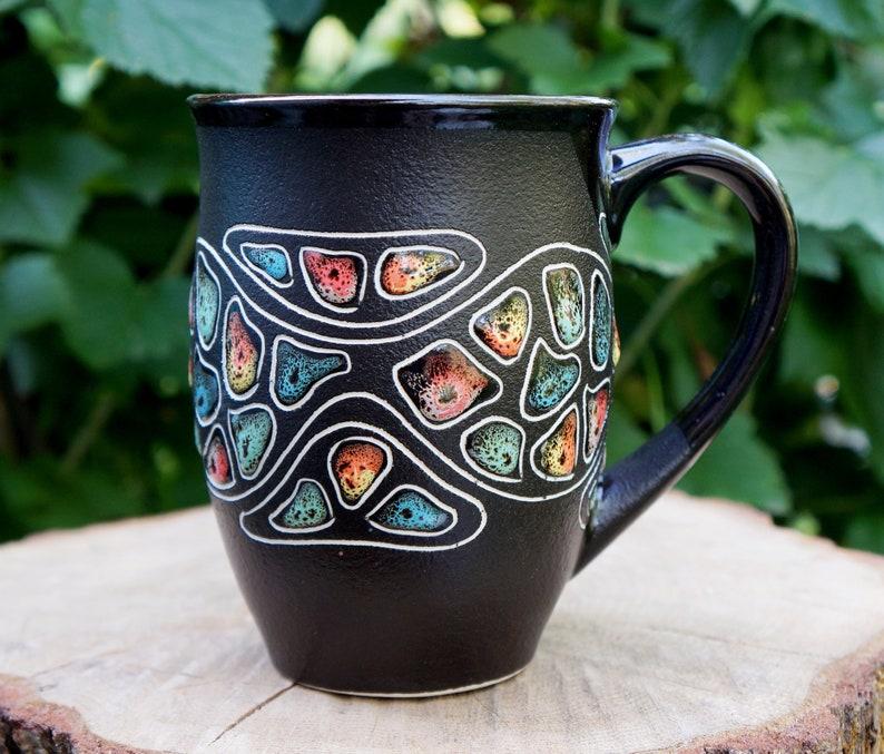 En Bureau De Café Mug Céramique Soeur Amoureux Droit Thé La Grès Cadeau Peint À Main Tasse Amateur OkPXZiu