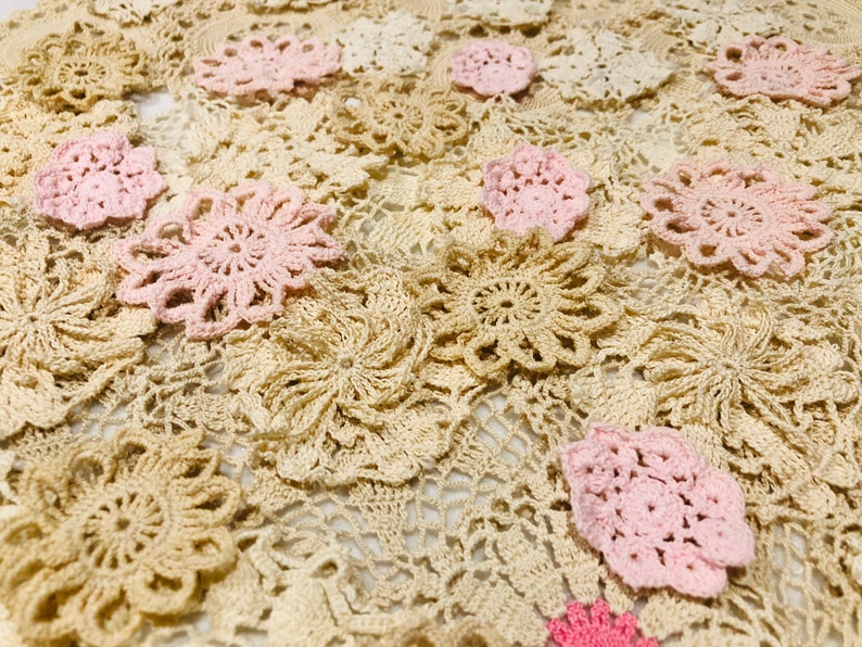 ON SALE Doily KitShabby ChicInspirations KitCraft KitGreat for Doily Book,Junk Journal,Mixed Media