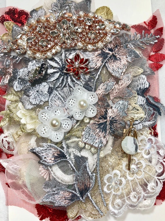 Embellishments Kit 1 Craft Supplies Great For Junk Journal Gypsy Style Projects Scrapbook Layout Etc