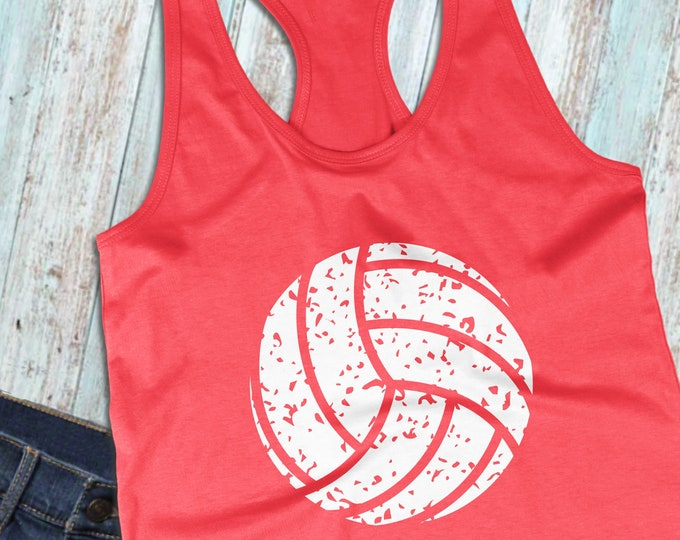 Volleyball SVG, Volleyball, Distressed Volleyball svg, Sports Svg, Svg Files, Cricut Cut Files, Silhouette Cut Files - SV07