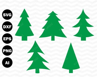 Christmas Tree SVG Cut File - SVG805