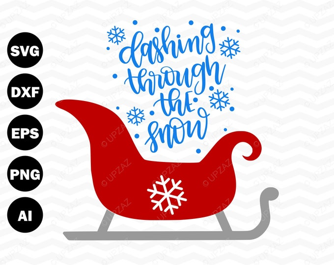 Merry Christmas SVG,  Cutting Files For Silhouette and Cricut, Svg Files - SVG803