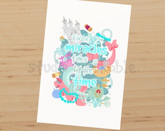 Miracles Quote Matte Journal Card / N746