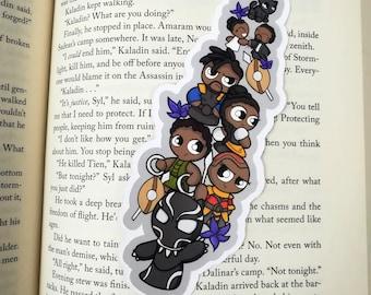 Bit Panther Traditional Bookmark / BT571