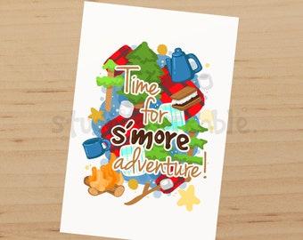 S'more Adventure Matte Journal Card / N727