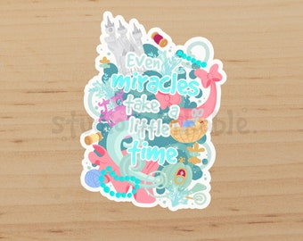 Miracles Glossy Die Cut Sticker / S744