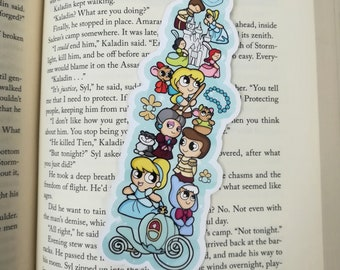 Cinderelly Bits Traditional Bookmark / BT745