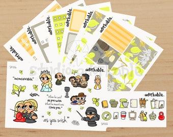 The Princess Bit Planner Sticker Kit / SK528