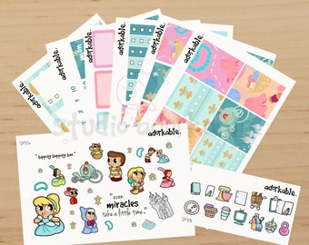 Faith in Your Dreams Planner Sticker Kit / SK729