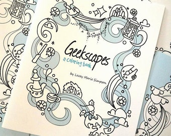 Geekscapes Coloring Book / C337