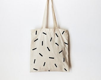 392663278 Cotton TOTE BAG, minimalist bag, natural canvas, bolsa de tela, pintado a  mano, zero waste bag, eco friendly bag, shopping, hand painted bag