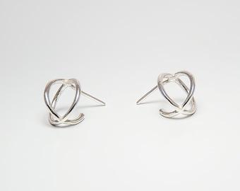 chunky hoops mixed metals hoop earrings,boho Earrings Small Hoops Gypsy Hoops,Stud Hoops,perfect size hoops Gold Hoop Earrings SALE