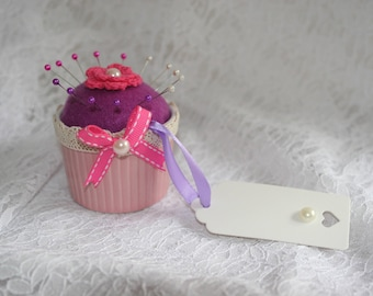 Pink Creme Brulee Style Pin Cushion