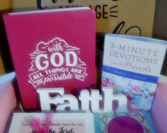 Encouragement Gift Box Christian Gifts For Women Inspirational Religious Birthday Thinking Of You