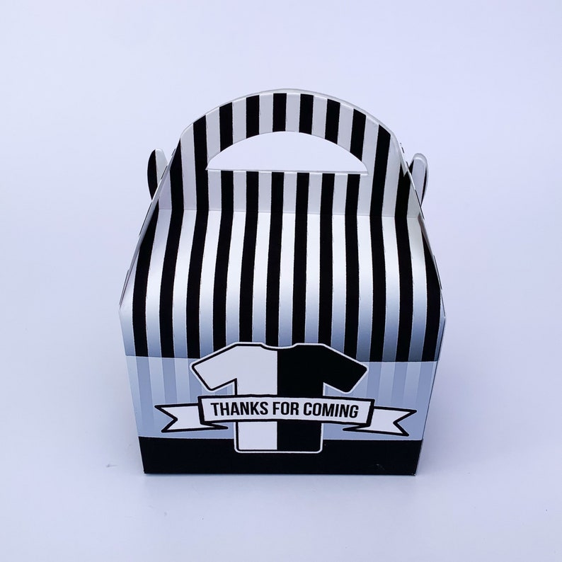 Football soccer Personalised photo Children\u2019s Party Box Gift Bag Favour