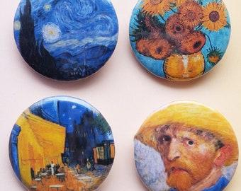 Handmade Van Gogh Pins!