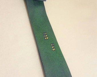 70s vintage thin tie Towncraft by Penneys