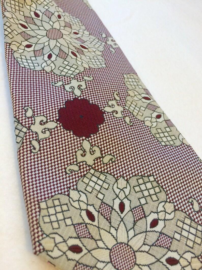 Vintage mandala wide tie 60/'s