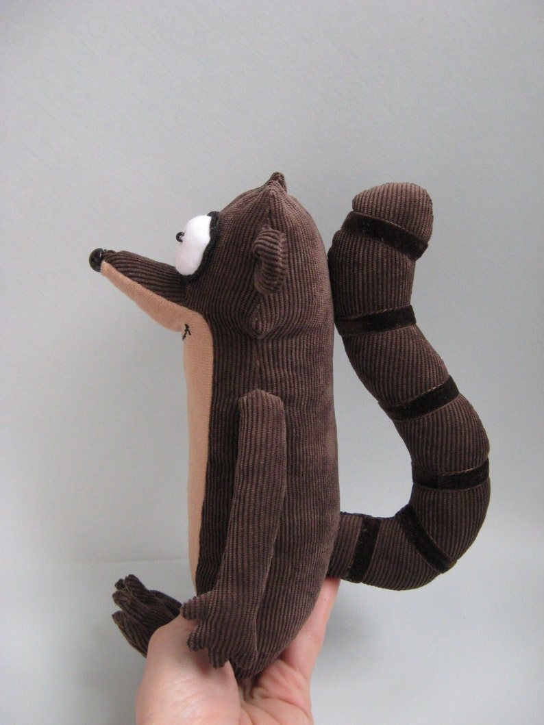 Plush Rigby from Regular Show.Soft Toy  c209cf7fc
