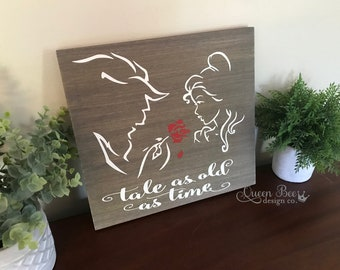 Beauty And The Beast Wedding Gift Etsy