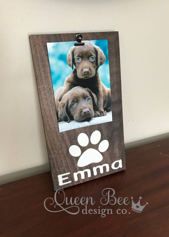 Dog Picture Framedog Framepet Picture Framepersonalized Dog Frame
