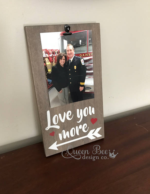Valentines Giftlove You More Picture Framelove You More Frame
