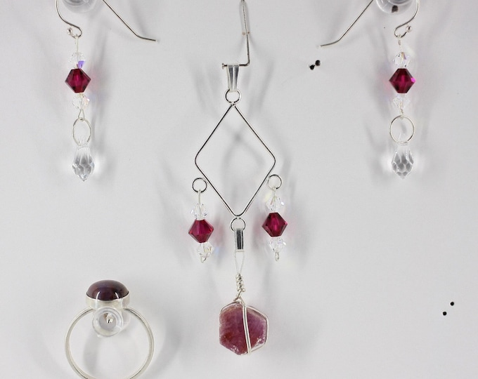 Ruby - Ring, Pendant or Set