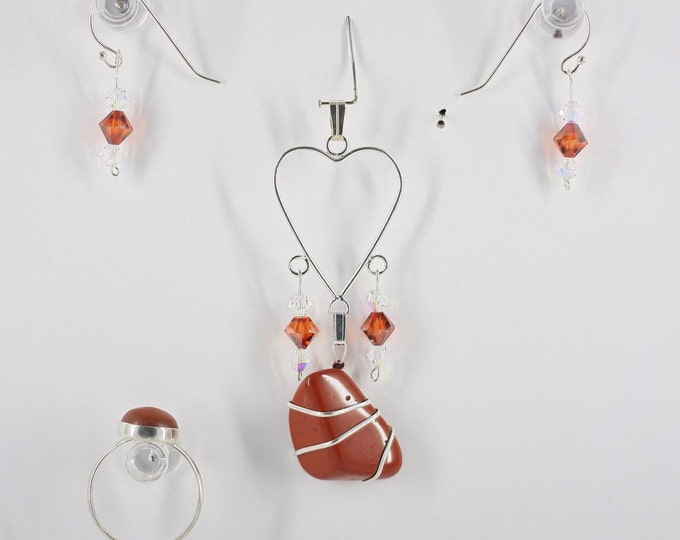 Red Jasper - Ring, Pendant or Set