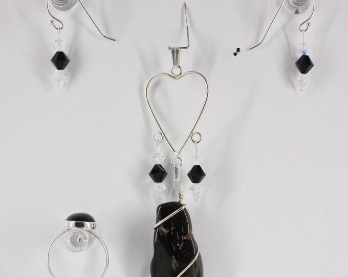 Black Onyx - Ring, Pendant or Set