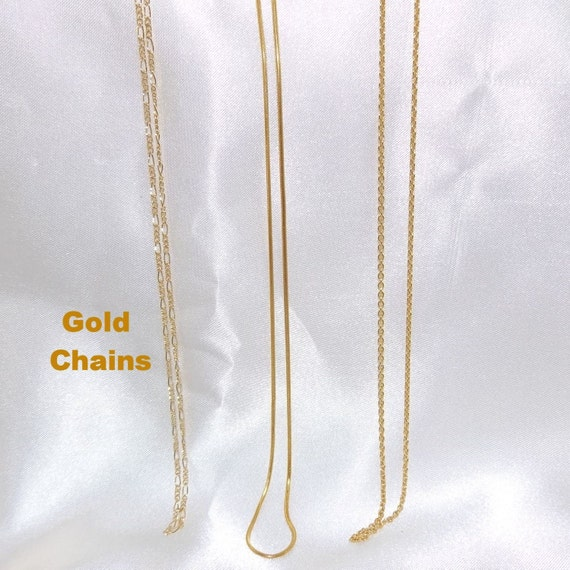 Gold Chains (14/20 Gold Filled)
