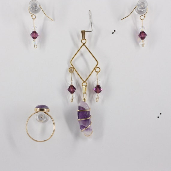 Amethyst - Ring, Pendant or Set