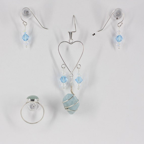 Aquamarine - Ring, Pendant or Set
