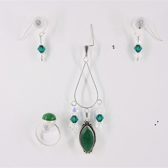 Emerald - Ring, Pendant or Set