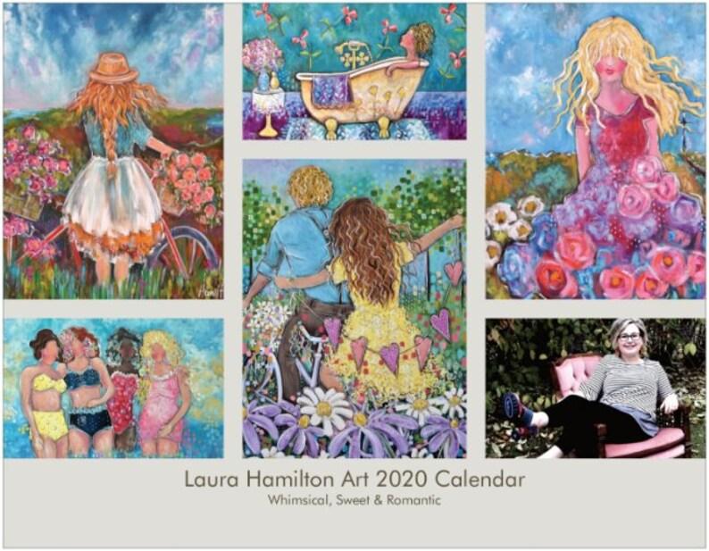 Laura Hamilton Art Signature 2020 Calendar image 0