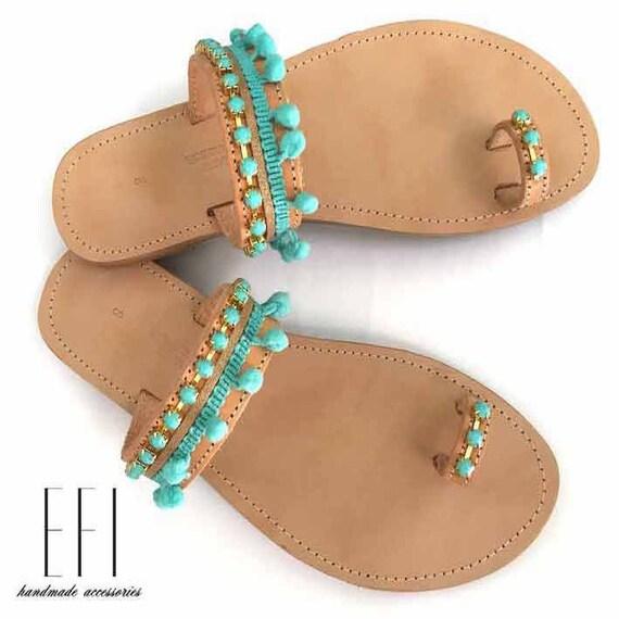 Sandalen aus Leder griechische Sandalen antike griechische