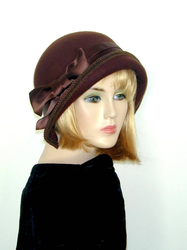 044fc067c140e Custom Cloche Convertible 3 in 1 Downton Abbey hat Miss