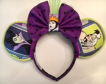 Disney Villain's minnie ears