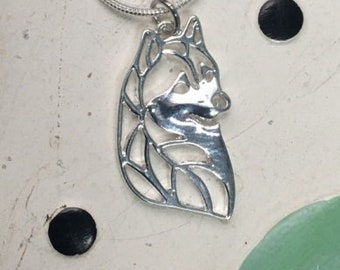 Husky Charm Necklace - FREE SHIPPING