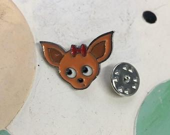 Chihuahua Pin - FREE SHIPPING